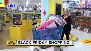 Black Friday shopping  underway at Toys R Us
