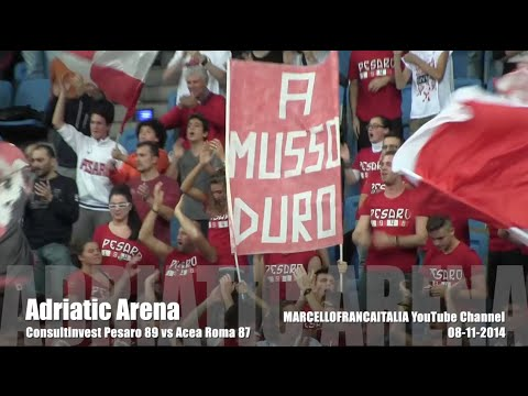 Consultinvest Vuelle Basket Pesaro vs Acea Virtus Roma : last five minutes