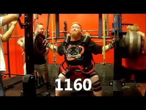 Henry Thomason - Powerlifting Squat Training 10/07/12 @ BAG Image 1