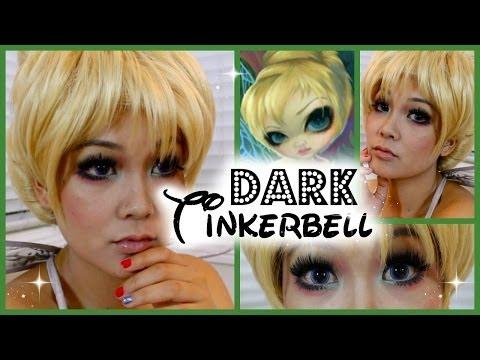 Dark Tinkerbell Makeup Tutorial