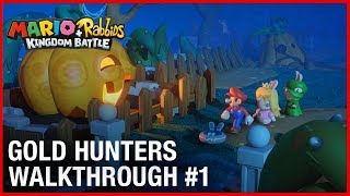 Mario + Rabbids: Gold Hunters Dev Team Walkthrough #1 | Ubisoft [NA]
