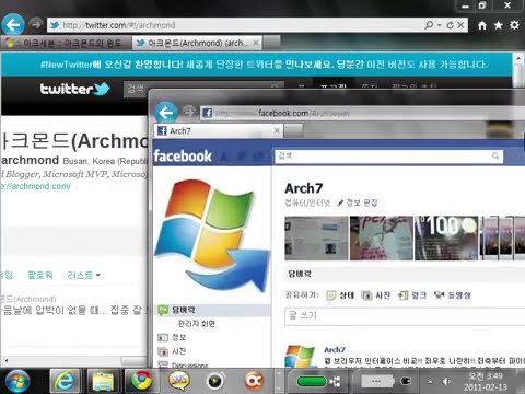 Internet Explorer 9 RC Aero Snap(Tab Browsing)
