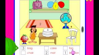 Match the picture with the word  -  kindergarten worksheet