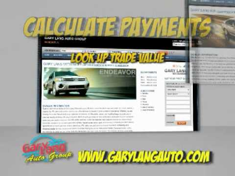 Gary Lang Autos New Website