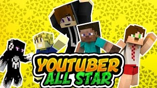 Youtuberlar Allstar - Minecraft Kısa Film (FİNAL)