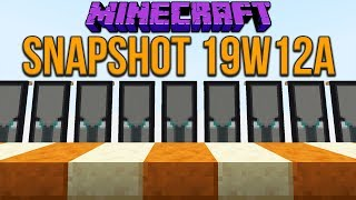 Minecraft 1.14 Snapshot 19w12a Two New Slabs! Pillager Banner Change & Many Changes.