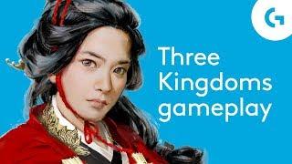 Total War: Three Kingdoms gameplay - night-time ambush battle analysis