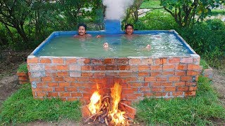 Build Heated Swimming Pool (For the winter)