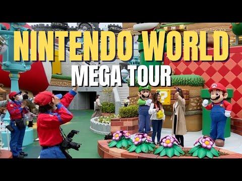 🍄 Super Nintendo World en Universal Studios Japón | Tour - Vlog en español