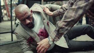 مسلسل الاسطورة  - مشهد قتل رفاعي الدسوقي - محمد رمضان