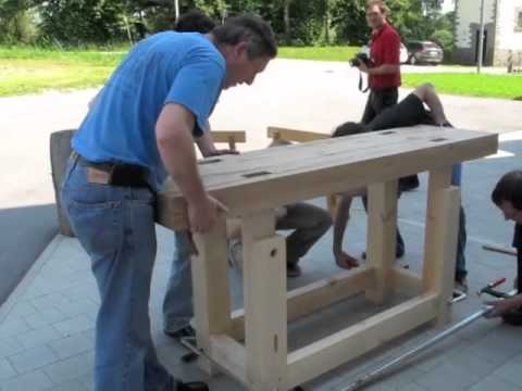 how to build a strong workbench