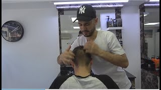 ASMR Turkish Barber Face,Head and Neck Massage 286