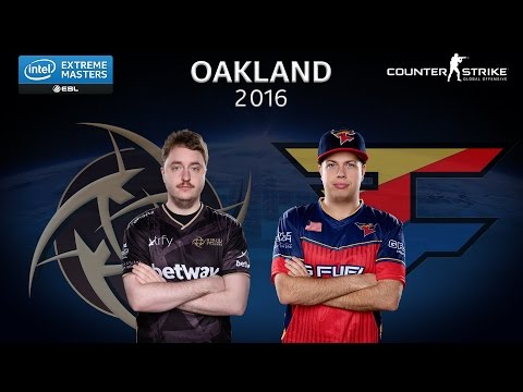 CS:GO - NiP vs. FaZe [Overpass] Map 3 - Semifinal - IEM Oakland 2016