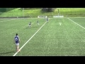 Gaelic Football Kickpass drill 1