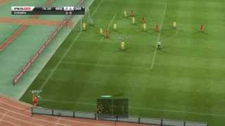 Montenegro - Ukraine 0-4 | World Cup Qualification for Brasil 2014 06-07-2013 highlights | pes 2013