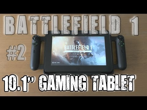 2# Battlefield 1 (PC) MAX 60fps test on 10.1'' 2GB Nvidia GT 640 LE gaming tablet - Razer Edge Pro