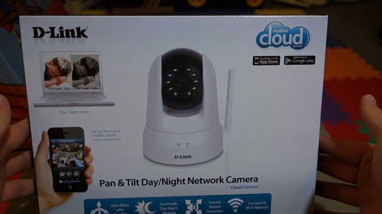 D-Link DCS-5020L Wireless IP Camera Unboxing - YouTube