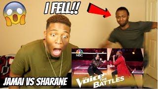 "Download Lagu The Voice 2018 Battle - Jamai vs. Sharane Calister: ""Mercy"" (AMAZING!!) (REACTION) Gratis STAFABAND"