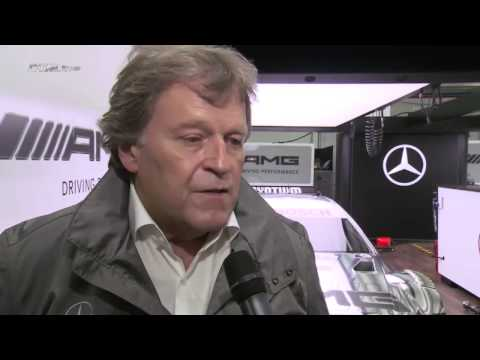 DTM exclusiv: Michael Schumacher''s out with Mercedes AMG