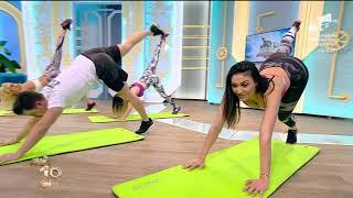 Fitness la Neatza! Antrenament de tip flow cu Florin Neby