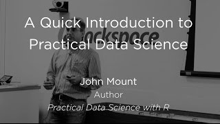 A Quick Introduction to Practical Data Science