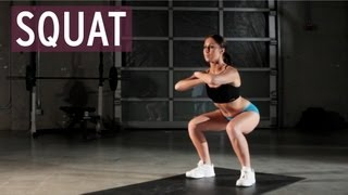 Exercise Tutorial - Squat