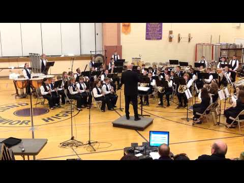 Suite from Lincolnshire Posy by Hannah Beardsley Middle School Symphonic Band