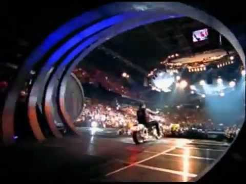 the undertaker biker entrance rare - rollin rollin titantron...