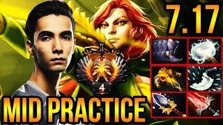 Windranger Pro Gameplay - Sumail Mid Lane Practice - EG Dota 2 Patch 7.17