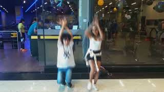 DANCING K-POP IN PUBLIC !!