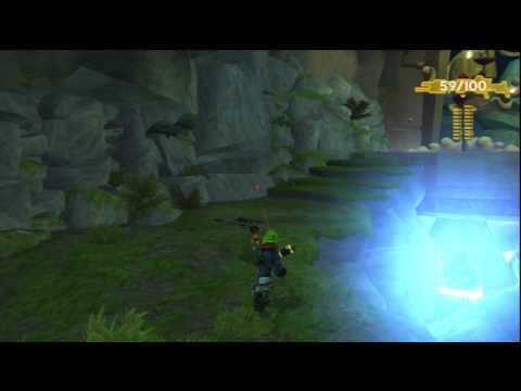 Jak and Daxter HD Collection gameplay - Jak II + Trophies