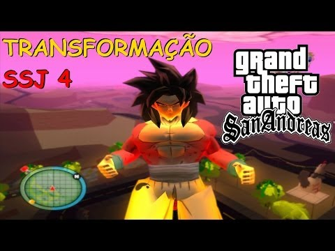 DOWNLOAD MOD DBZ TRANSFORMAÇÃO DE GOKU OOZARU PARA SSJ4 GTA SAN ANDREAS BY OLI