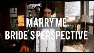 Marry Me Cover - Bride's Perspective MP3