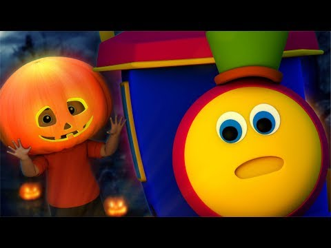 Scary Pumpkin | Bob The Train | Halloween Videos | Kindergarten Nursery Rhymes For Babies By Kids Tv