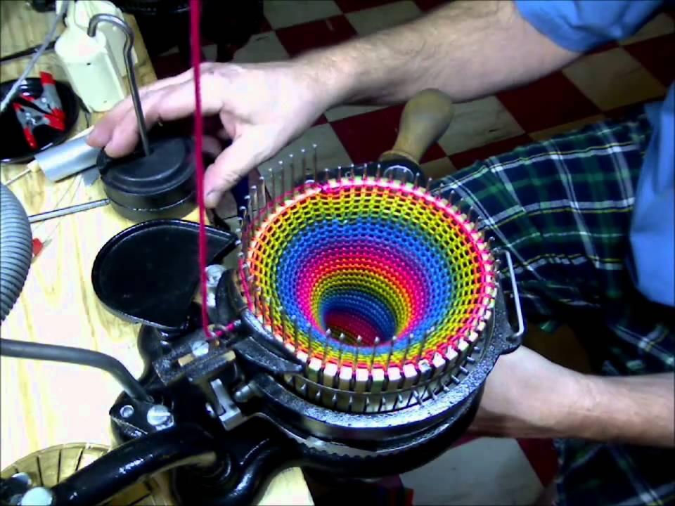 Машина для вязания по кругу видео