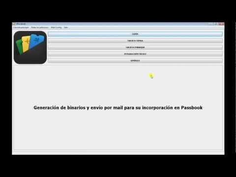 vPassbook. Generar passes (binarios) e incorporar en Passbook iOS6 de Apple. iPhone. Velneo V7.