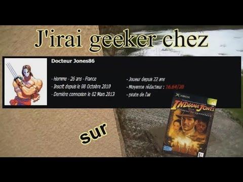 J'irai Geeker Chez Vous avec DocteurJones86 sur Indiana Jones et le Tombeau de L'Empereur