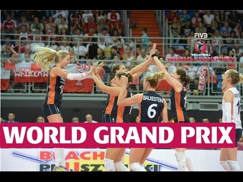 Grand Prix 2015: Holanda aseguró un lugar en el Grupo 1 (VIDEO)