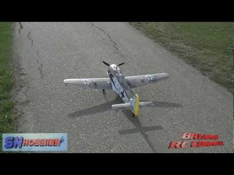 SN Hobbies - Top R/C Hobby FW-190 Flight Testing
