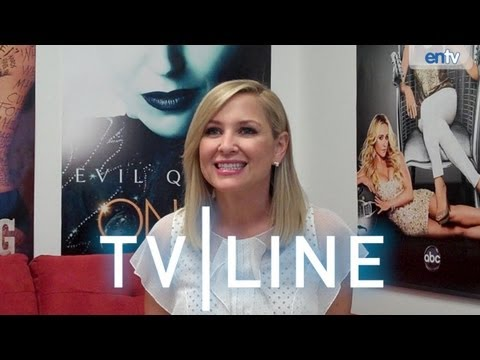 "Jessica Capshaw ""Grey's Anatomy"" Season 9 Finale Interview"