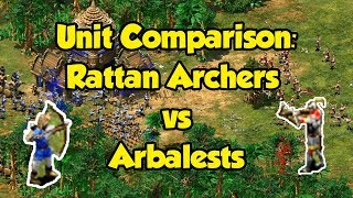 Rattan Archers vs Arbalests