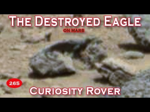 The Destroyed Eagle Among Other Interesting Rubble On Mars