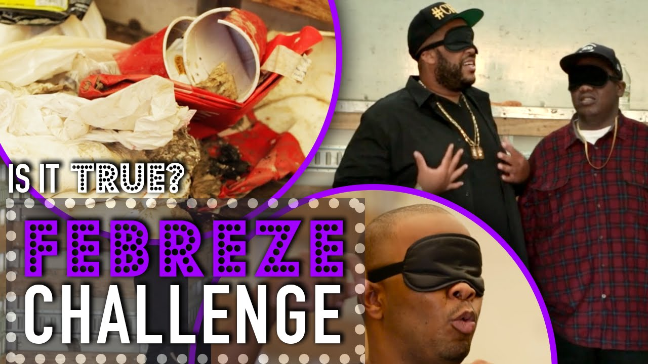 Febreze Challenge Works - Is It True? - By All Def Digital