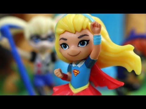 Niebezpieczna Wyspa | DC Super Hero Girls & Lwia Straż | Bajki Dla Dzieci