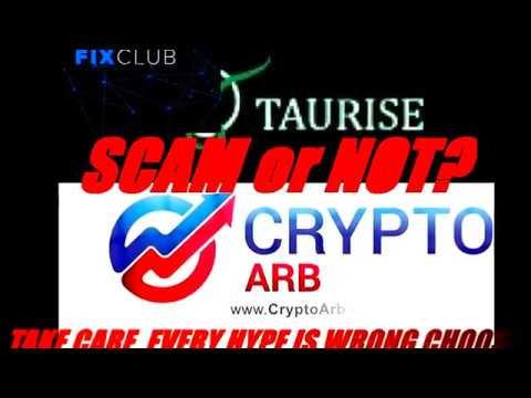 Scam FIXCLUB, TAURISE, CRYPTOARB SCAM - Surwiwal XXIw