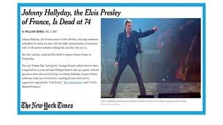 """""""Johnny Hallyday, The French Elvis Presley"""""""