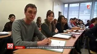 Dossier IAE vs Ecoles de Commerce - JT France 2