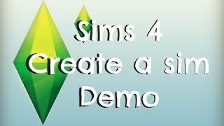Sims 4 Create a Sim Demo