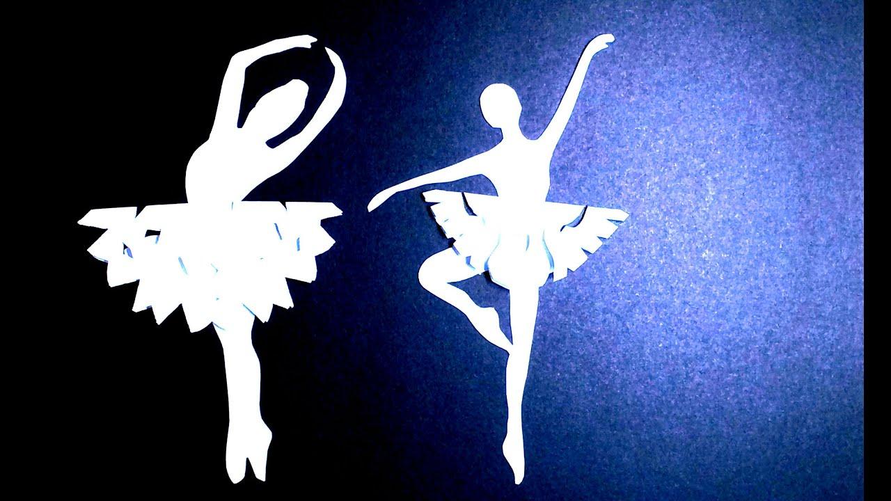 Новогодние снежинки-балеринки своими руками