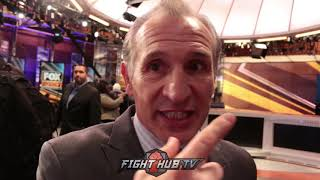 "RAY MANCINI ""I ADMIRE MIKEY GARCIA SO MUCH!"" TALKS SPENCE CLASH"